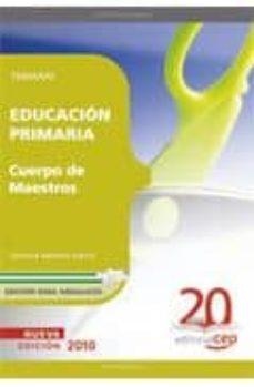 Chapultepecuno.mx Cuerpo De Maestros. Primaria. Temario. Edicion Para Andalucia Image