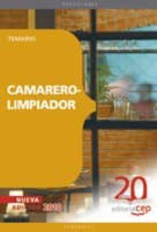 camarero-limpiador. temario-9788468105543
