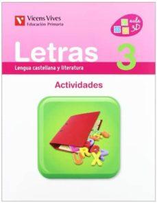 Carreracentenariometro.es Letras 3. Actividades 3º Primaria Image