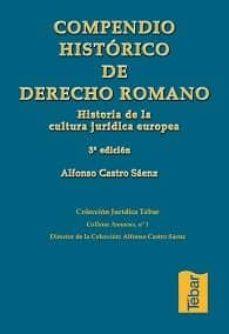 Iguanabus.es Compendio Historico De Derecho Romano: Historia, Recepcion Y Fuen Tes Image