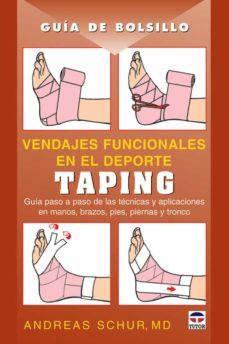 Descarga de libros de texto en alemán TAPING: VENDAJES FUNCIONALES