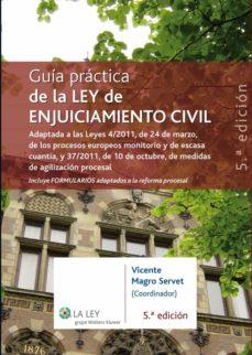 guía práctica de la ley de enjuiciamiento civil (ebook)-9788481264043