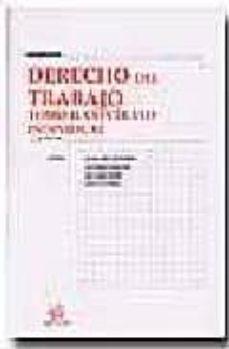 Javiercoterillo.es Derecho Del Trabajo (T. Ii): Contrato Individual (6ª Ed.) Image