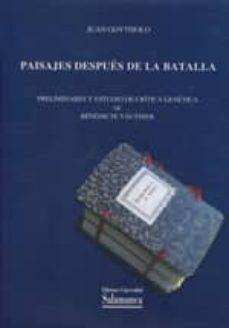 Descarga gratuita de libros de Google en línea. PAISAJES DE DESPUES DE LA BATALLA 9788490120743 de JUAN GOYTISOLO DJVU ePub