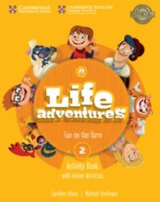 LIFE ADVENTURES ACTIVITY BOOK WITH HOME BOOKLET AND ONLINE