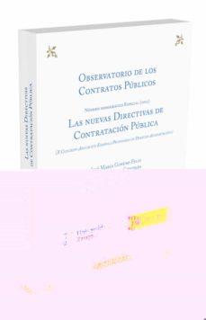 las nuevas directivas de contratación pública-jose maria gimeno feliu-9788490984543