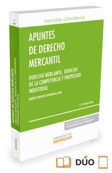apuntes de derecho mercantil-alberto bercovitz rodriguez-cano-9788490996843