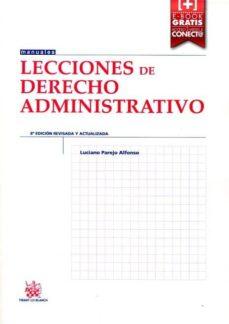 Emprende2020.es Lecciones De Derecho Administrativo (8ª Ed.) Image