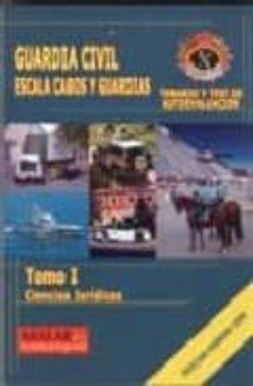 Javiercoterillo.es Guardia Civil, Escala Cabos Y Guardias. Tomo I: Ciencias Juridica Image