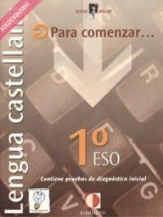 Concursopiedraspreciosas.es Lengua Castellana. 1º Eso. Solucionario Image