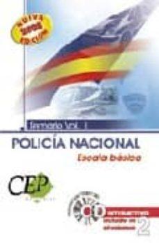 Colorroad.es Oposiciones Policia Nacional Escala Basica. Temario Volumen I Image