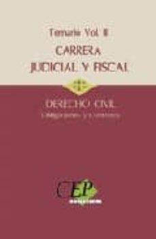 Geekmag.es Temario De Oposiciones A La Carrera Judicial Y Fiscal. Derecho Ci Vil Vol. Iii. Obligaciones Y Contratos. Image