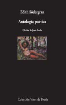 antología poética-edith södergran-9788498953343