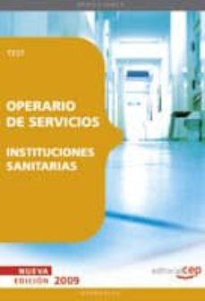 Inmaswan.es Operario De Servicios De Instituciones Sanitarias. Test Image