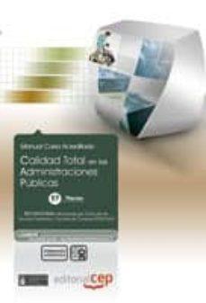 Canapacampana.it Calidad Total En Las Administraciones Publicas. Coleccion Formaci On Continuada (Essscan) Image