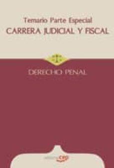 Valentifaineros20015.es Carrera Judicial Y Fiscal. Derecho Penal. Temario Parte Especial Image
