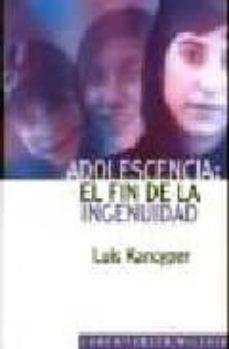 Colorroad.es Adolescencia: El Fin De La Ingenuidad Image