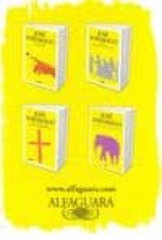 Permacultivo.es Pack Saramago (4 Vol.)(el Viaje Del Elefante; Cain; El Evangelio Segun Jesucristo; Ensayo Sobre La Ceguera) Image