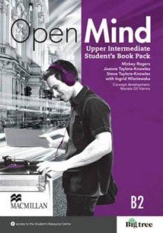 Descargar OPEN MIND UPPER INTERMEDIATE STUDENT S BOOK PACK gratis pdf - leer online