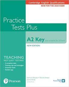 Libros gratis para descargar en kindle fire CAMBRIDGE ENGLISH QUALIFICATIONS: A2 KEY (ALSO SUITABLE FOR SCHOOLS) PRACTICE TESTS PLUS STUDENT 9781292271453 (Literatura española) de