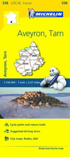 mapa local aveyron tarn-9782067210653