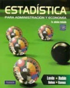 Emprende2020.es Estadistica Para Administracion Y Economia (7ª Ed.revisada ) Image