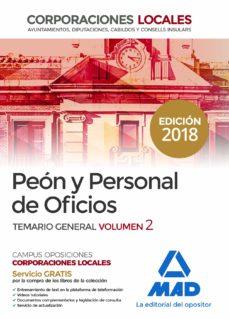 Srazceskychbohemu.cz Peón Y Personal De Oficios De Corporaciones Locales. Temario Gene Ral Volumen 2 Image