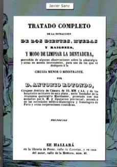 Descargador de libros en pdf TRATADO COMPLETO DE LA EXTRACCION DE LOS DIENTES, MUELAS Y RAIGONES  en español