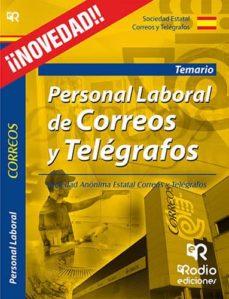 personal laboral de correos y telegrafos. temario-9788416506453