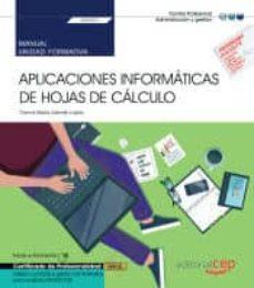 Colorroad.es (Transversal Uf0321) Manual Aplicaciones Informaticas De Hojas De Calculo. Certificados De Profesionalidad Image