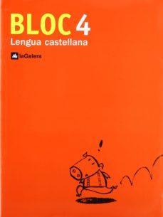 Eldeportedealbacete.es Cuadernos De Lengua Castellana: Bloc Lengua 4 (Educacion Primaria ) Image