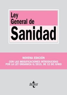 ley general de sanidad (9ª ed.)-9788430967353