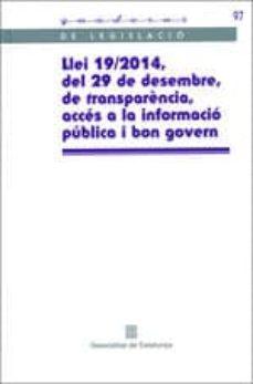Colorroad.es Llei 19/2014, Del 29 De Desembre, De Transparència, Accés A La Informació Pública I Bon Govern Image