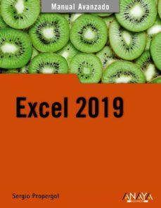 Descargar EXCEL 2019 gratis pdf - leer online