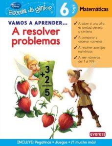 vamos a aprender a resolver problemas de matematicas (escuela de genios)-9788444146553