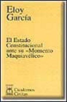 Bressoamisuradi.it El Estado Constitucional Ante Su 'Momento Maquivelico' Image