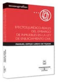 Premioinnovacionsanitaria.es Efectos Juridico-reales Del Embargo De Inmuebles En La Ley De Enj Uiciamiento Civil Image