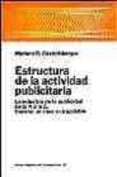 Upgrade6a.es Estructura De La Actividad Publicitaria: La Industria De La Publi Cidad De La A A La Z, España: Un Caso Extrapolable Image