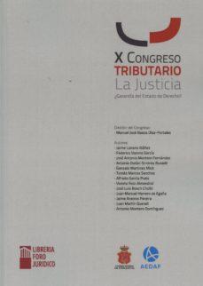 Relaismarechiaro.it X Congreso Tributario. La Justicia. Garantía Del Estado Image