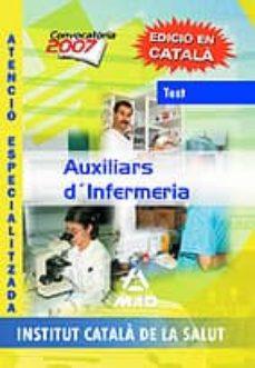 Vinisenzatrucco.it Auxiliars D Infermeria Atencio Especialitzada De L Institut Catal A De La Salut: Temari Volum Iii Image