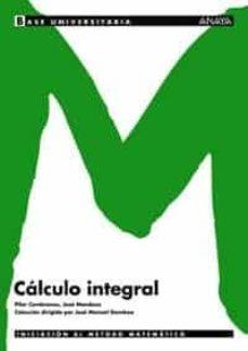 calculo integral-pilar cembranos-jose mendoza-9788466726153