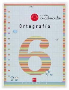 cuaderno de ortografia 6: cuadricula (2º educacion primaria)-maria del mar cervera-9788467501353