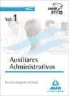 Padella.mx Auxiliares Administrativos Del Servicio Aragones De Salud. Temari O Volumen I Image