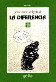 la diferencia-jean françois lyotard-9788474323153