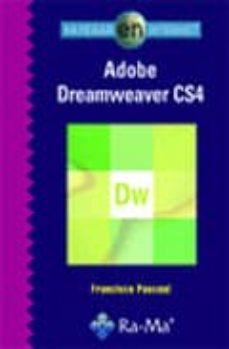 navegar en internet adobe dreamweaver cs4-francisco pascual-9788478979653