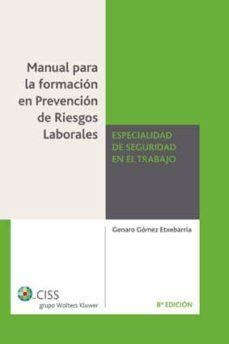 Valentifaineros20015.es Manual Formacion Prevencion Riesgos Laborales Seguridad Trabajo ( 8ª Ed.) Image