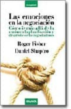 las emociones en la negociacion-roger fisher-9788483580653