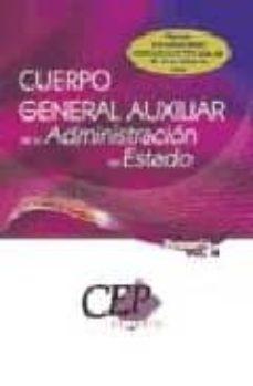 Elmonolitodigital.es Temario Oposiciones Vol. Ii. Cuerpo General Auxiliar De La Admini Stracion Del Estado Image