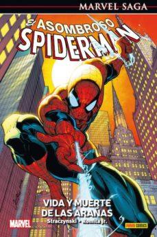 el asombroso spiderman 3: vida y muerte de las arañas-joe michael straczynsky-john jr. romita-9788490946053
