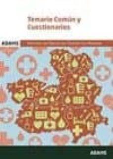 temario comun y cuestionarios servicio de salud de castilla la mancha-9788491472353